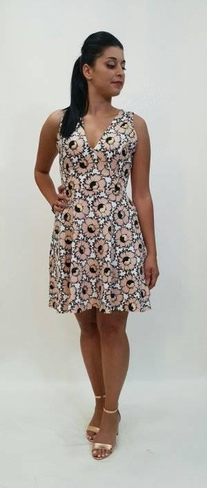 Φόρεμα κοντό γραμμή άλφα