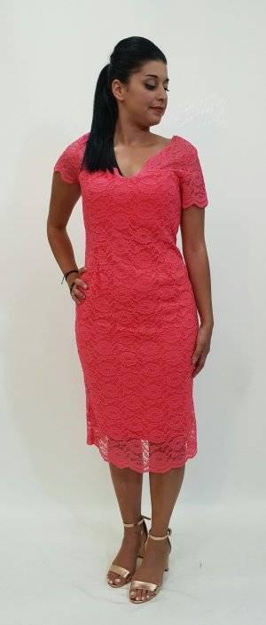 Φόρεμα βραδινό δαντέλα