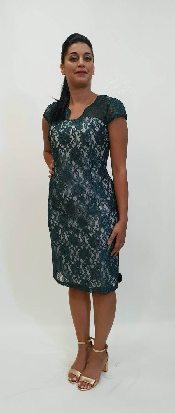 0ff3f83af4bb Κλασικό βραδινό φόρεμα σε στενή γραμμή - For ever Chania Clothing ...