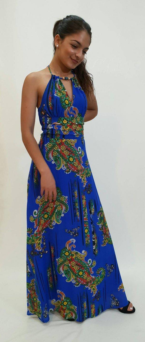 Φόρεμα μακρύ με λουλούδια