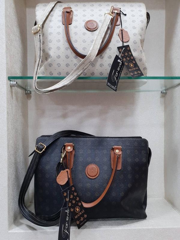 b7b91041e8 Καθημερινή τσάντα δίχρωμη - For ever Chania Clothing   Accessories