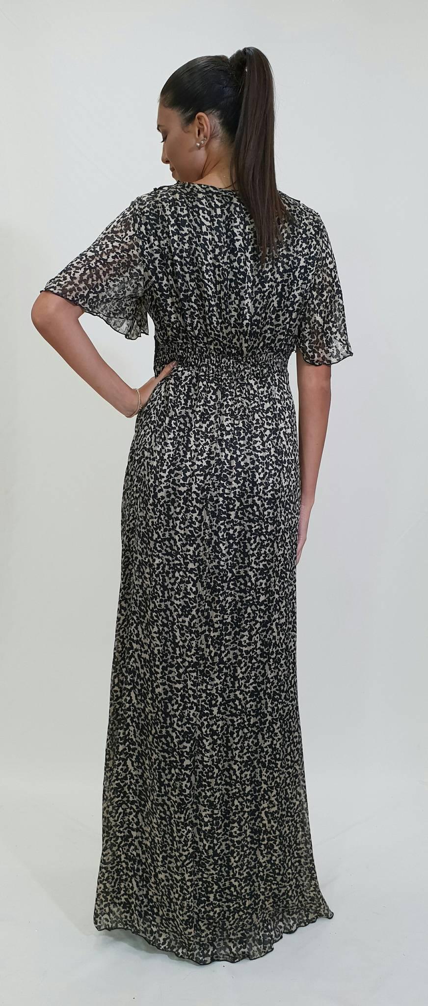 Φόρεμα μακρύ λεοπάρ