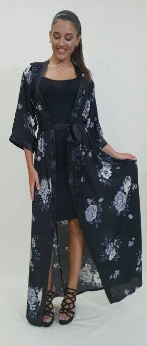 Φόρεμα καφτάνι διπλό