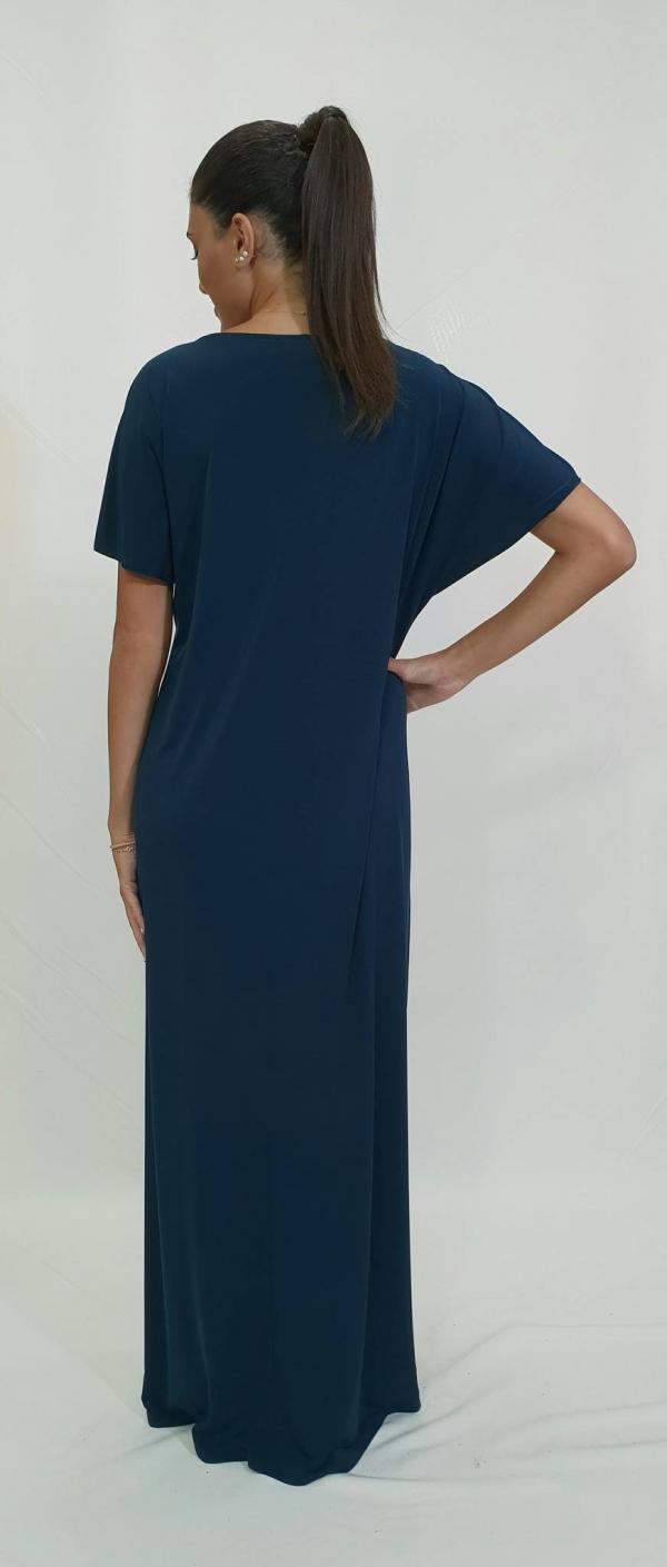 Φόρεμα αέρινο με σχέδιο στο μπούστο