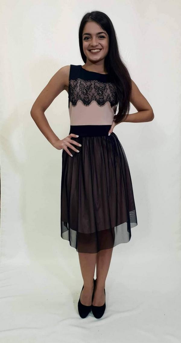 Φόρεμα κοντό με τούλινη φούστα - For ever Chania Clothing   Accessories 70f9ad77ebd