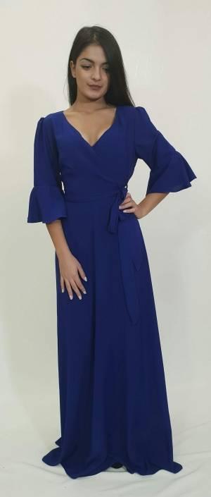 Φόρεμα μακρύ κρουζέ