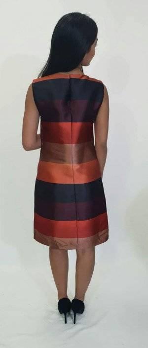 Φόρεμα κοντό ριγέ