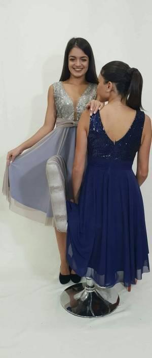 Φόρεμα με μπούστο από στρας