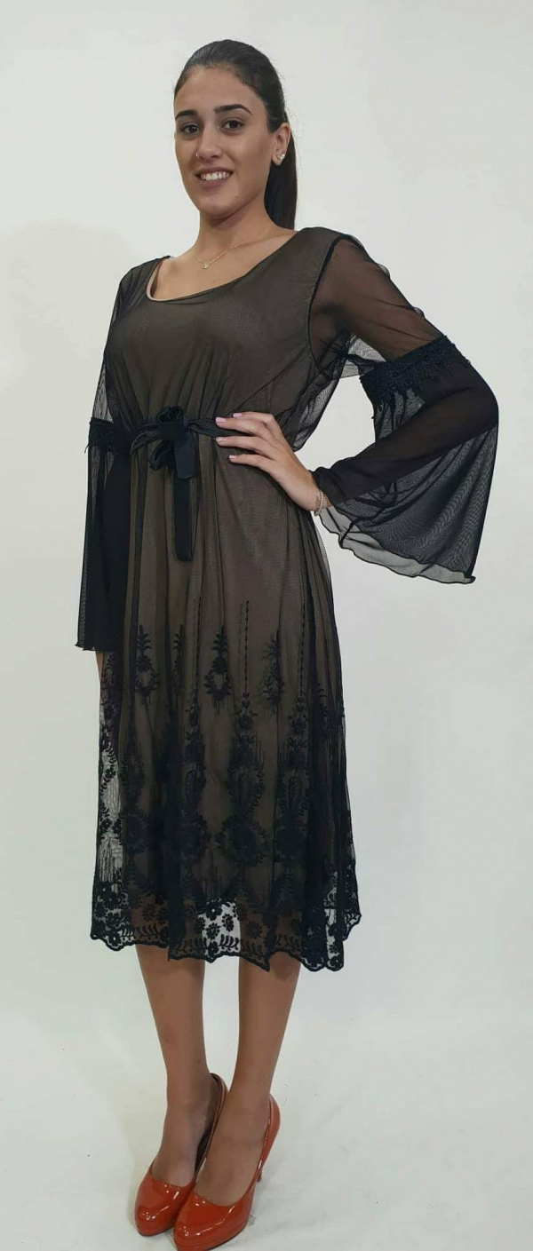 Φόρεμα τούλι δαντέλα - For ever Chania Clothing   Accessories 1cb50ca8b8c