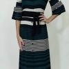 Φόρεμα μακρύ ριγέ