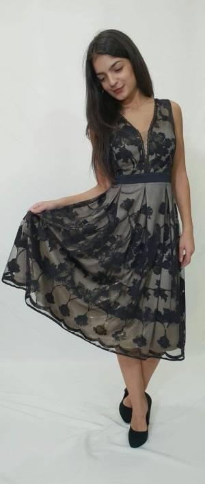 Φόρεμα κοντό με πιέτες