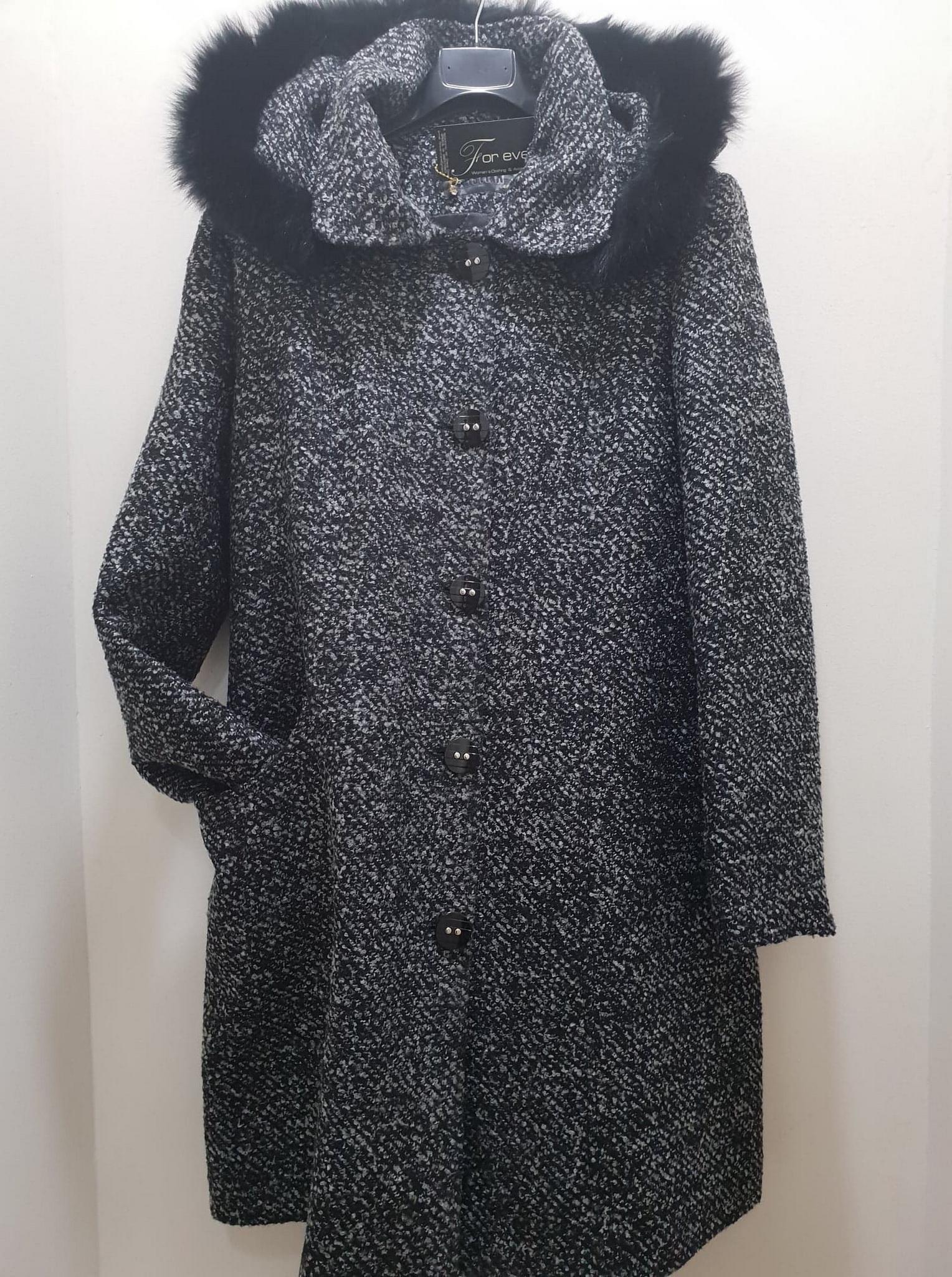 Ημίπαλτο με κουκούλα - For ever Chania Clothing   Accessories 572caff7710