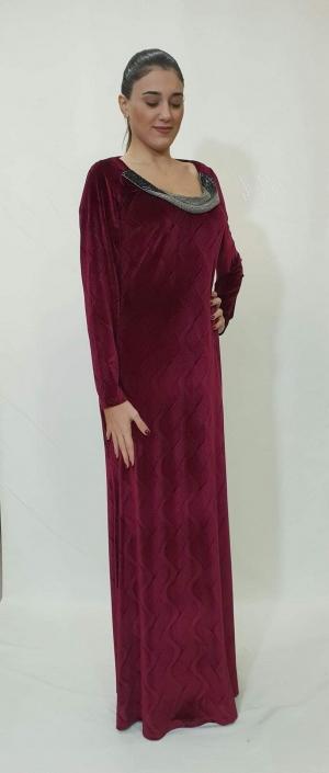 Φόρεμα μακρύ βελούδο