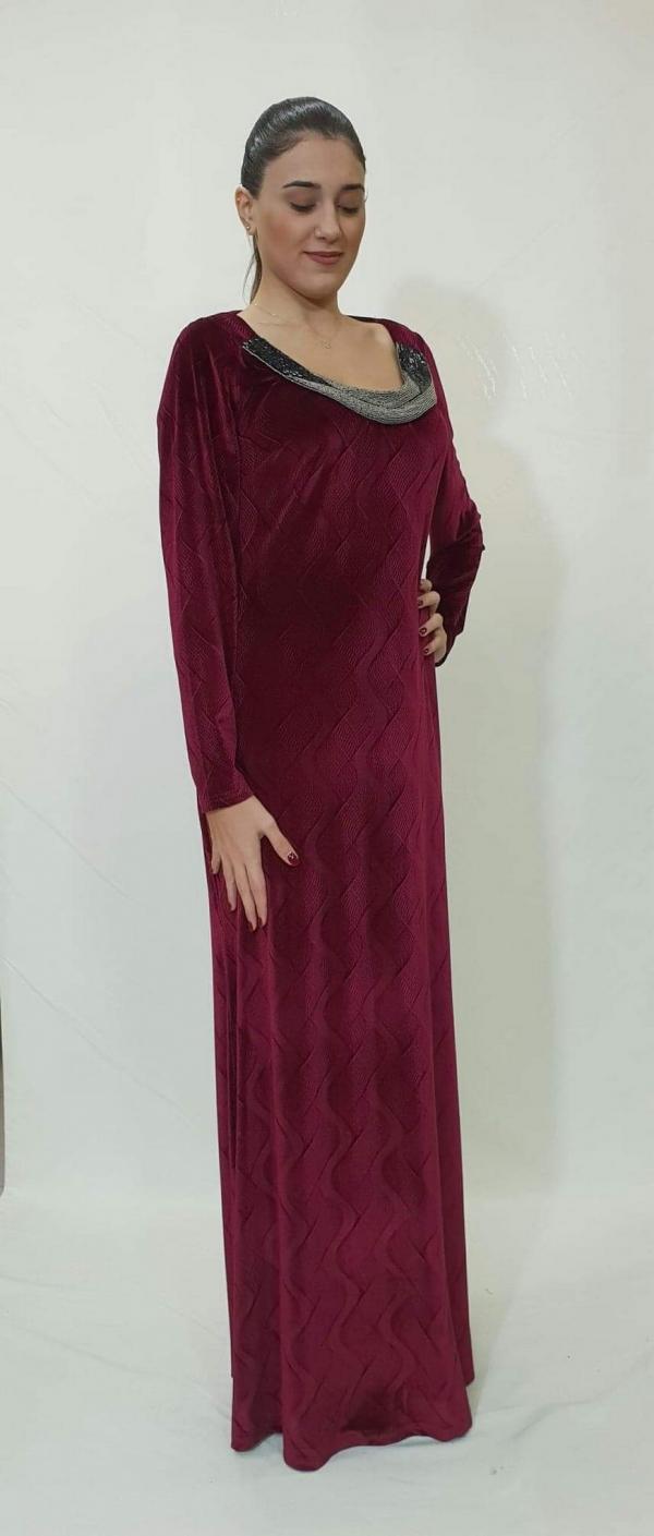 Φόρεμα μακρύ βελούδο - For ever Chania Clothing   Accessories 910ae6a9ed5