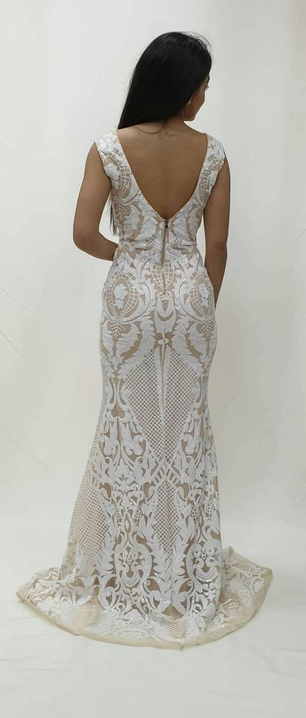 Φόρεμα μακρύ στρας