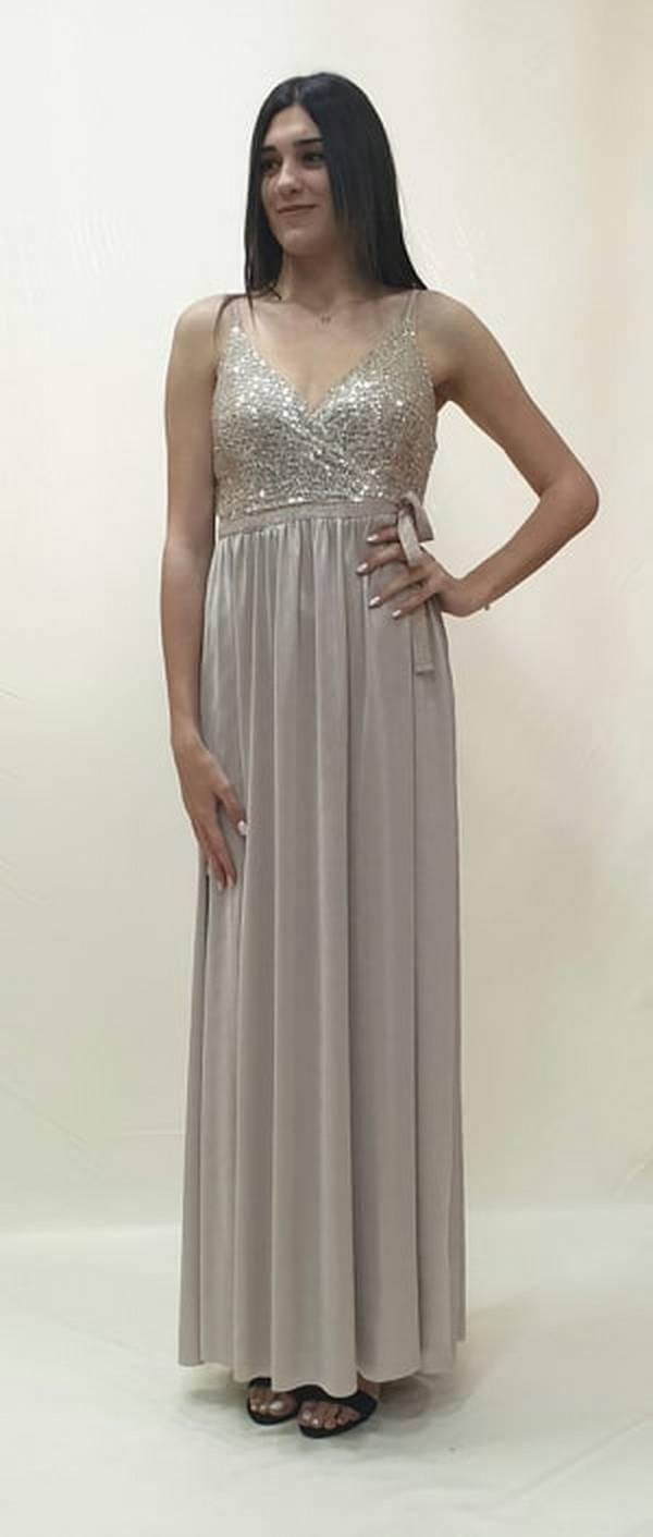 3a65f0154de Φόρεμα μακρύ κρουαζέ - For ever Chania Clothing & Accessories