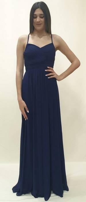 a7a533d48713 Φόρεμα μακρύ με άνοιγμα στη πλάτη