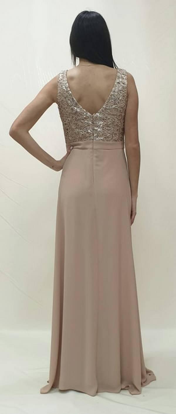 Φόρεμα μακρύ με σκισίματα