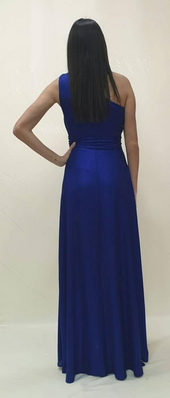 Φόρεμα μακρύ με ένα ώμο