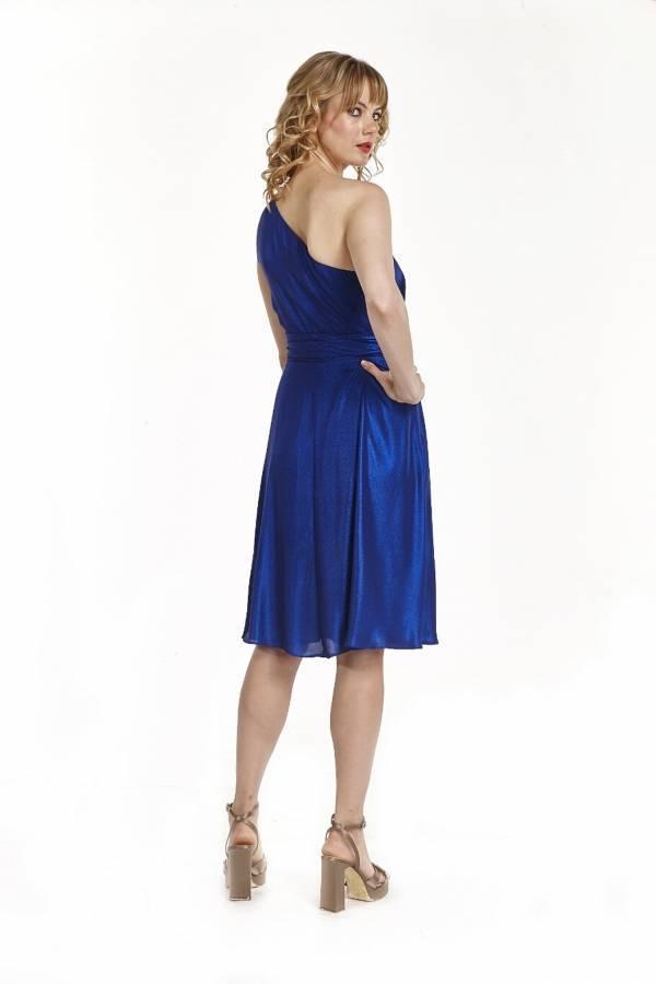 Φόρεμα κοντό με ένα ώμο