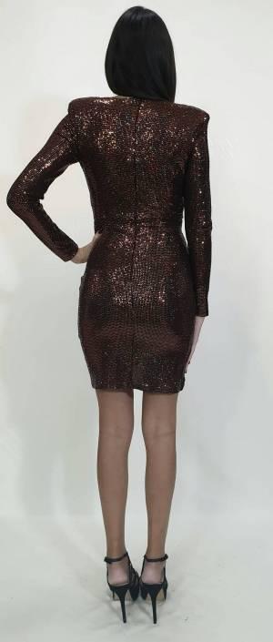Φόρεμα κοντό στρας