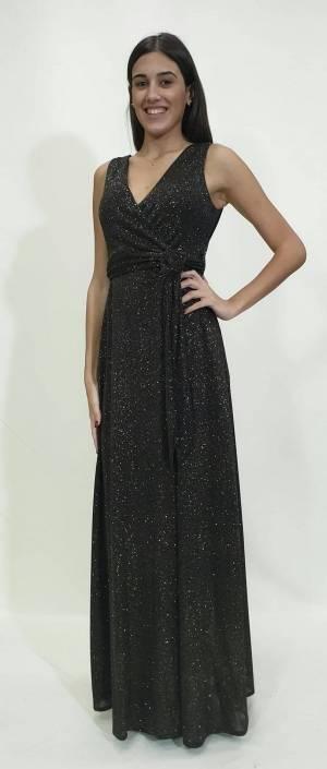 Φόρεμα lurex κρουαζέ