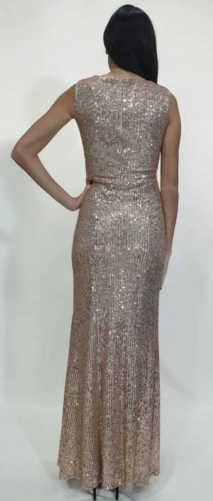 Φόρεμα δαντέλα με στρας